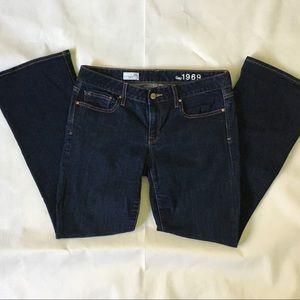 Gap curvy 28 Short jeans dark wash denim women's